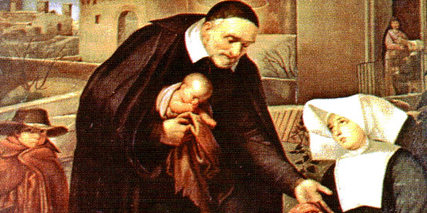 Resultado de imagem para imagem de são vicente de paulo - no vaticano